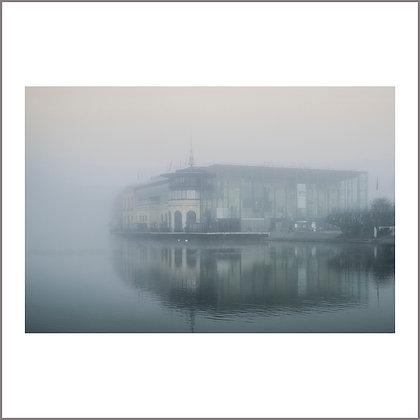 le casino dans la brume