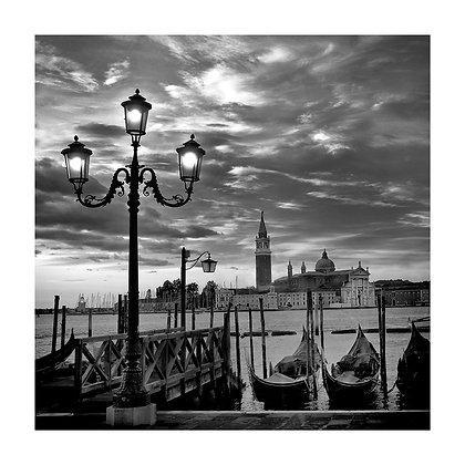 San Giorgio et les gondoles_1