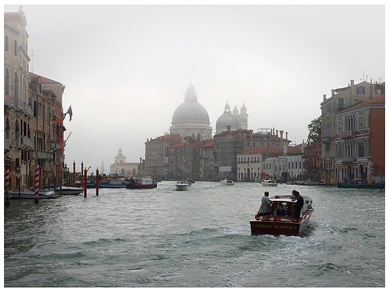 brume sur le grand canal