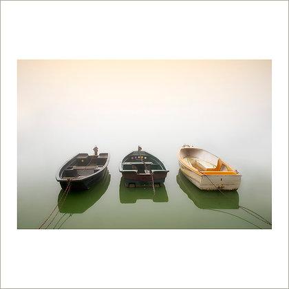 les trois barques