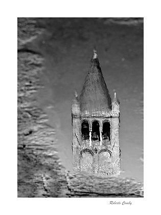 reflet du clocher