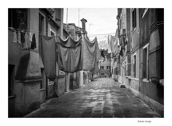 cordes à linge dans Castello