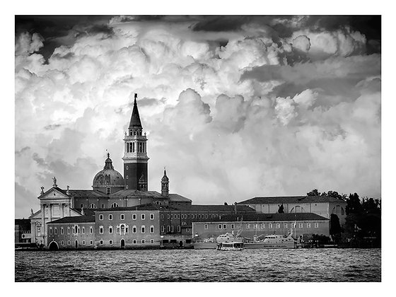 nuages sur San Giorgio