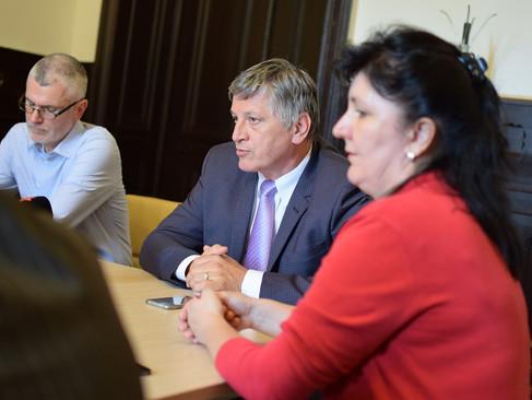 Ukrán újságírók szakmai látogatása Magyarországon