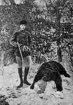 Rudolf trónörökös medvevadászata
