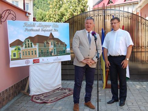 Rahón már épül az első kárpátaljai Magyar Ház