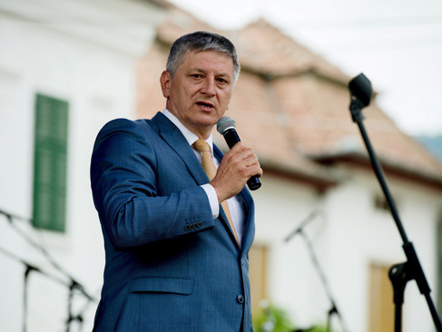Grezsa István hivatalában fogadta a KMKSZ delegációját