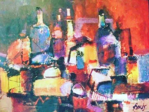 Kárpátaljai festőművészek munkáiból nyílt kiállítás Rómában