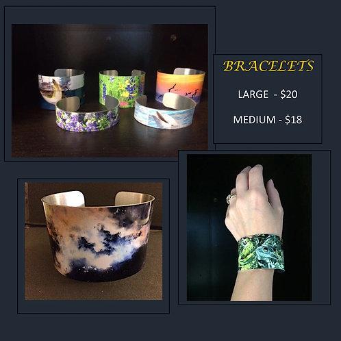 MONARCH: Bracelet by artist CJ Jordan