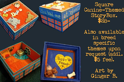 GINGER B: Canine-Themed StoryBox