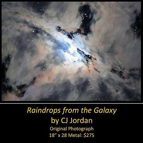 "MONARCH: ""Raindrops from the Galaxy"" framed original photograph by CJ Jordan"