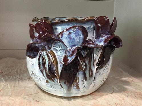MOSS: Medium Bowl with Iris