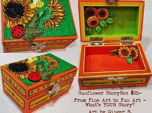 GINGER B: Sunflower StoryBox