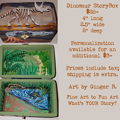 GINGER B: Dinosaur StoryBox