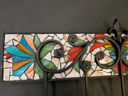 MONARCH: Glass Mosaic Coat Hook