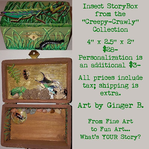 GINGER B: Insect StoryBox
