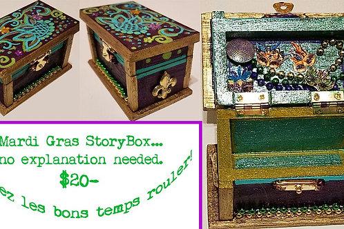 GINGER B: Mardi Gras StoryBox
