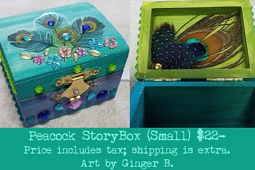 GINGER B: Peacock StoryBox (small)