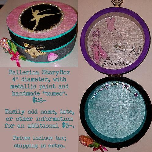 GINGER B: Ballerina Storybox