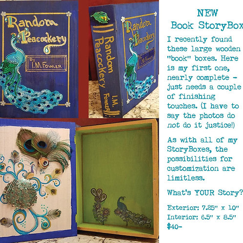 GINGER B: NEW! Book StoryBox