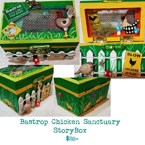 GINGER B: Bastrop Chicken Sanctuary StoryBox