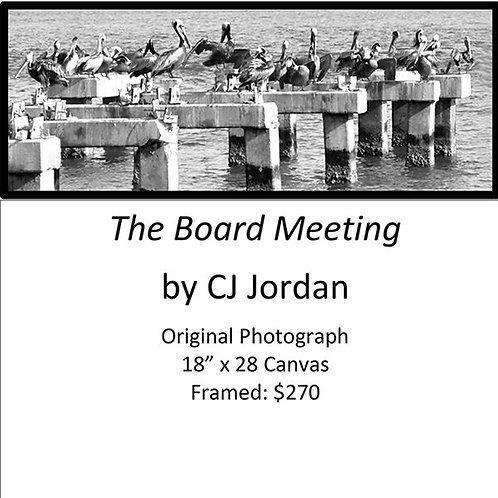 "MONARCH: ""The Board Meeting"" framed original photograph by CJ Jordan"