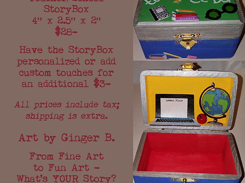 GINGER B: Teacher/School StoryBox