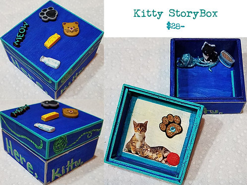 GINGER B: Kitty StoryBox