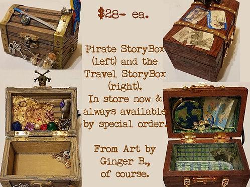 GINGER B: Pirate / Travel StoryBox