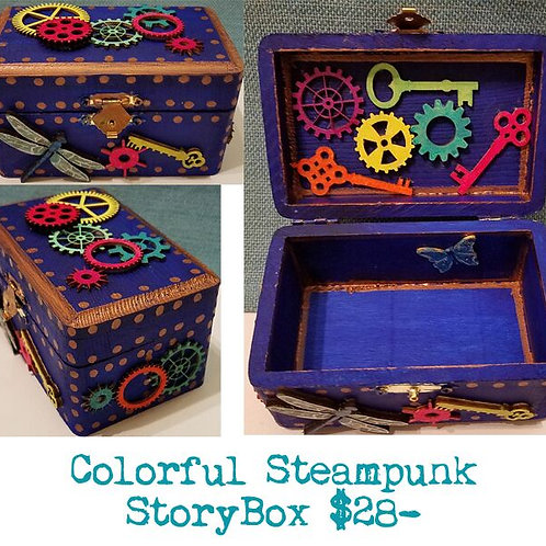 GINGER B: Colorful Steampunk StoryBox