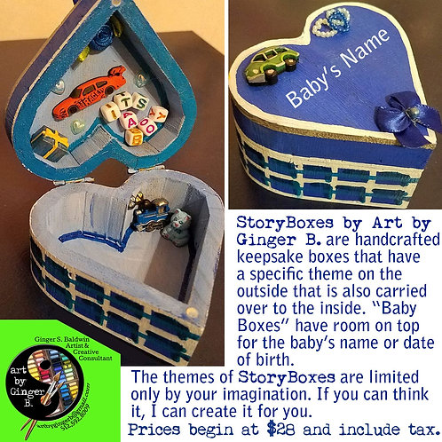 GINGER B: Personalized Baby StoryBox