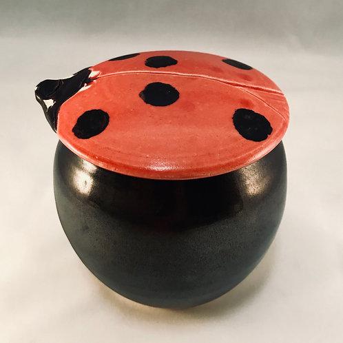 MONARCH: Lady Bug Jar