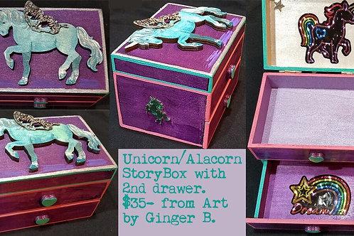 GINGER B: Unicorn/Alacorn StoryBox