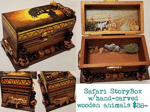 GINGER B: Safari StoryBox