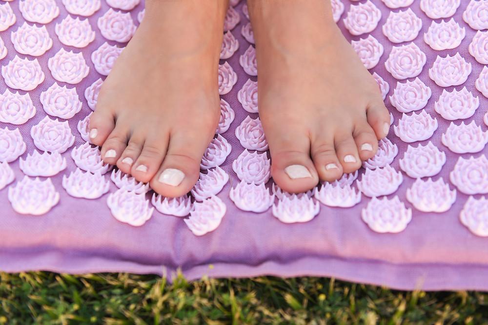 Acupressure mats and fibromyalgia