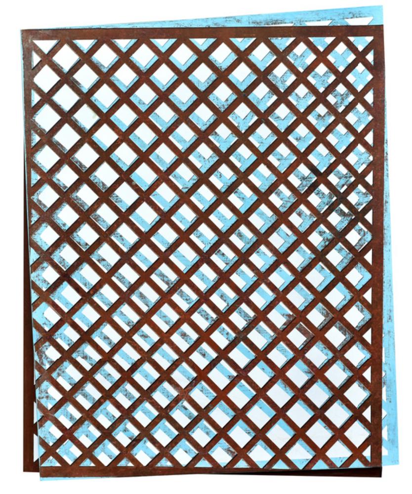 Iron Net - Overlapping 1 铁网-重叠 1