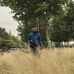 Historias detenidas en un parque de Santiago