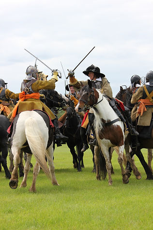 Cavalry in the Sealed Knot © Birdy Lancaster