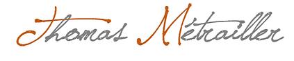 Thomas Métrailler - Thérapeute holistique - Logo