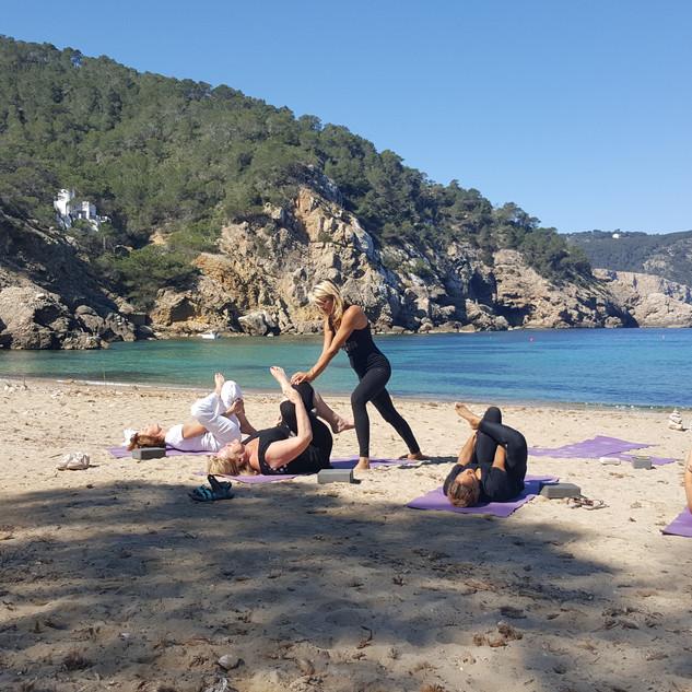 Yoga met de beste van het eiland