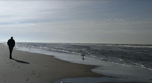 Stiltewandeling strand