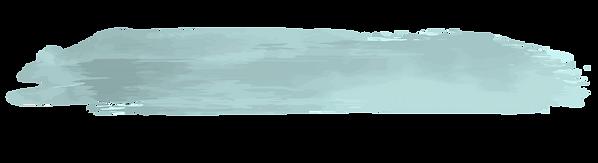 tache de peinture bleue