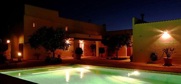 De villa op Ibiza