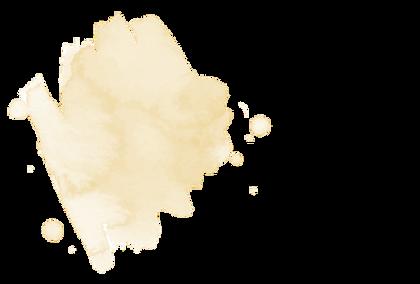 tache de peinture jaune
