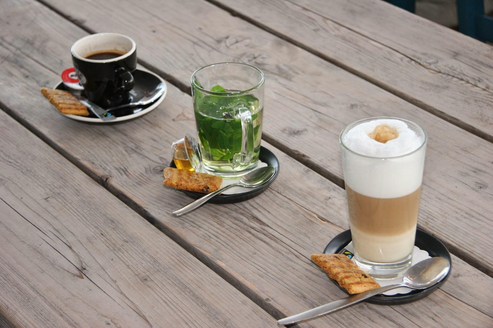 Je hebt koffie en koffie