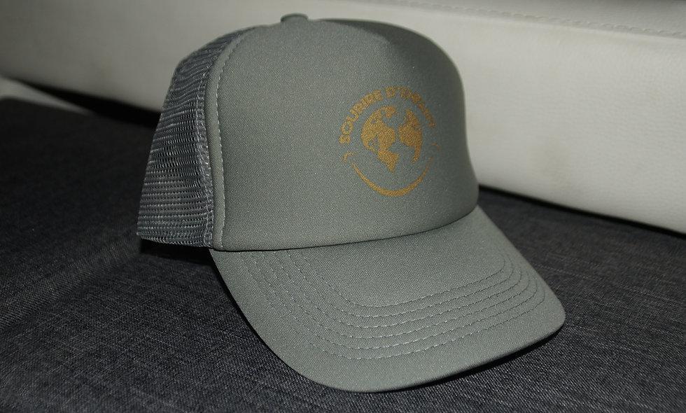 Casquette - Logo Sourire d'enfant Gold (gris)