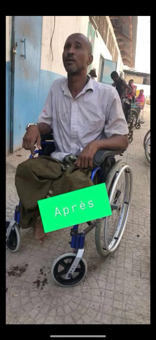 Nouveau fauteuil roulant par Sourire d'enfant