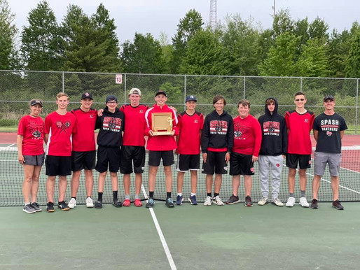 STEVENS POINT WINS TEAM TITLE, MARSHFIELD SECOND AT WISCONSIN VALLEY CONFERENCE BOYS TENNIS MEET