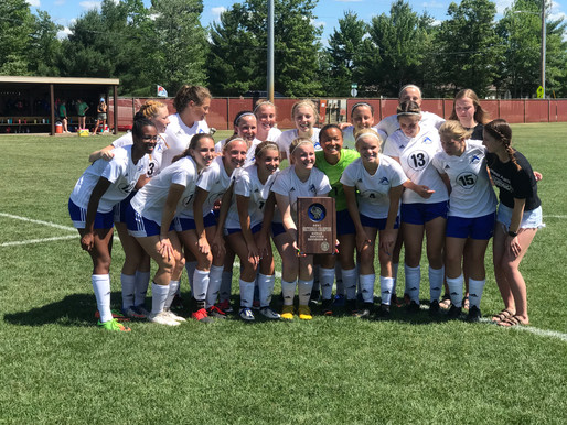 ASSUMPTION GIRLS SOCCER SHUTS OUT REGIS/McDONELL TO WIN DIVISION 4 SECTIONAL, ADVANCE TO STATE