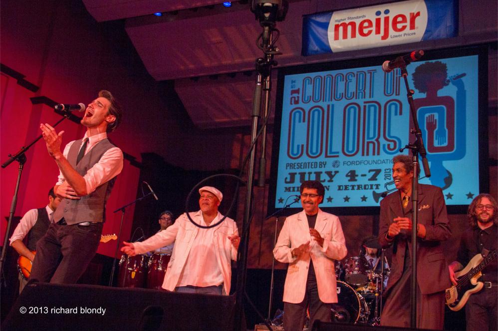 Concert of Colors with Spyder Turner, Ken Knox and Soul Ambassador, Melvin Davis (Detroit, MI)
